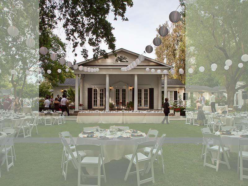 the white house wedding venue location in redding ca